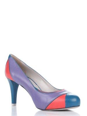 Туфлі триколірні | 1695592