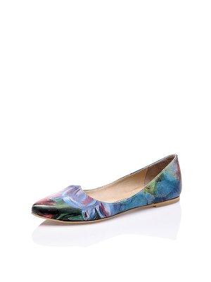 Балетки абстрактной расцветки - Los Ojo's - 2510308