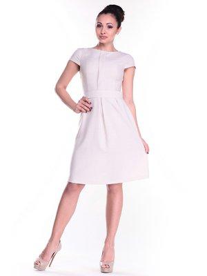 Платье светло-бежевое | 2484758