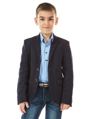 Пиджак темно-синий | 2539065