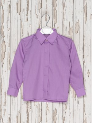 Рубашка сиреневая | 2541130