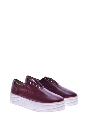Туфлі бордові | 2543486
