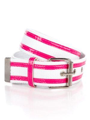 Ремінь рожево-білий - Gloria Jeans - 2549067