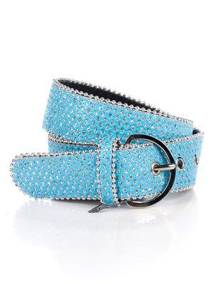 Ремінь блакитний з декором - Gloria Jeans - 2549069