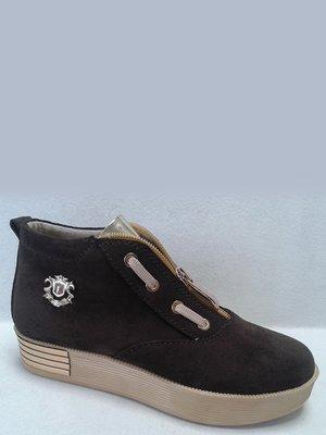 Черевики темно-коричневі | 2554742