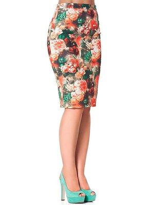 Спідниця в квітковий принт - Cornett-ВОЛ - 2559702