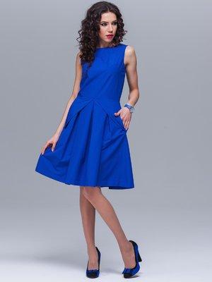Сукня кольору електрик | 2564951