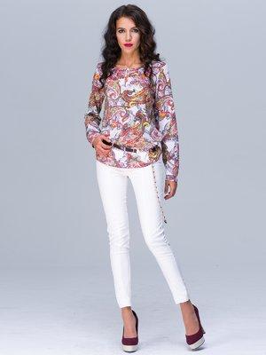 Блуза абстрактного забарвлення | 2564963