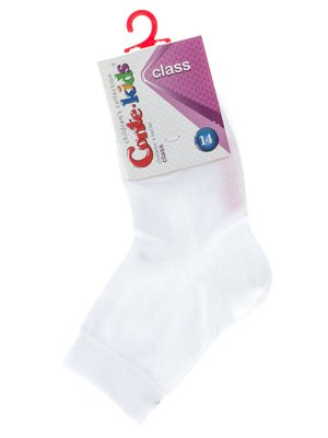 Шкарпетки білі з малюнком | 2625056