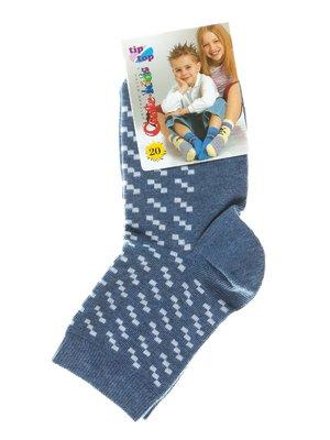 Шкарпетки сині з малюнком | 2626371