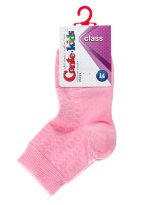 Шкарпетки світло-рожеві з малюнком | 2625059