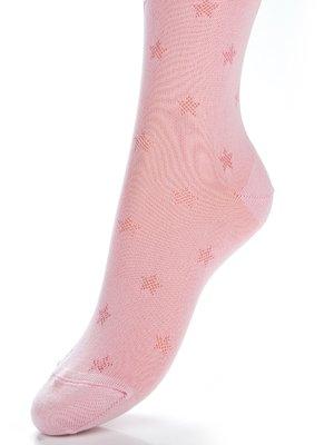 Колготки світло-рожеві з малюнками | 2625743