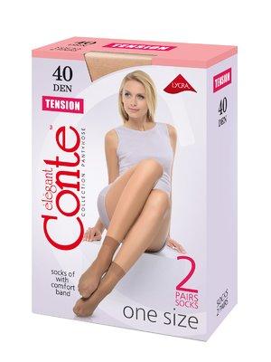 Носки цвета мокко 40 Den | 2573282
