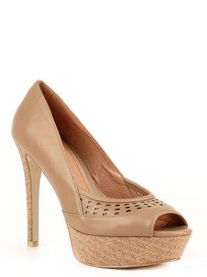 Туфли бежевые | 1011233