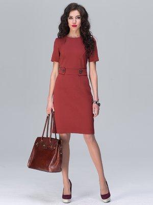 Платье терракотовое | 2575009
