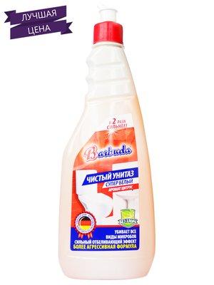 Средство чистящее для унитазов с ароматом цитруса «Супербелый. Чистый унитаз» (500 г) | 1621504