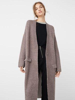 Пальто коричневе | 2576136