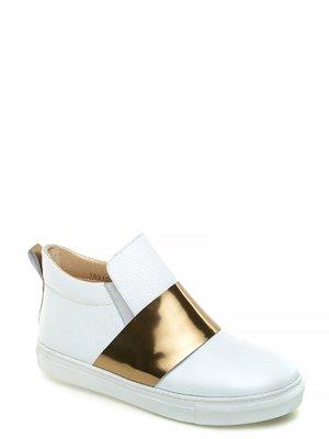 Ботинки бело-золотистые | 2582591