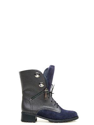 Ботинки серо-синие | 2582607