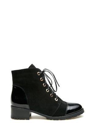 Ботинки черные | 2582611