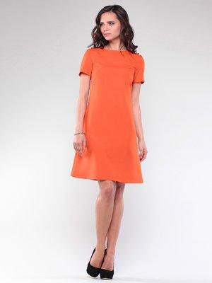 Платье оранжевое   2588476
