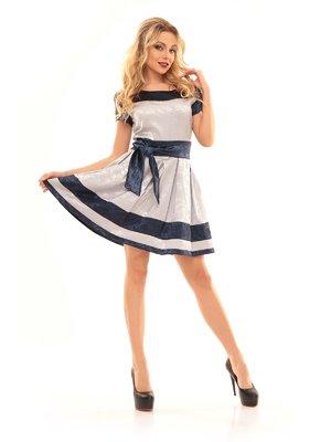 Сукня синьо-сіра | 2592952