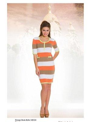 Платье в полоску   2464454
