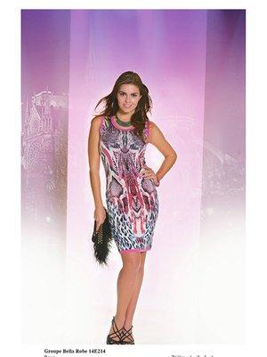 Платье анималистической расцветки   2464475