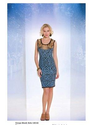 Сукня анімалістичного забарвлення | 2590901