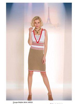 Сукня триколірна в смужку   2464433