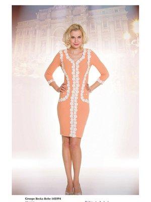 Платье персикового цвета   2464441