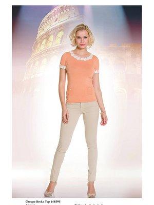 Блуза персикового цвета | 2464446