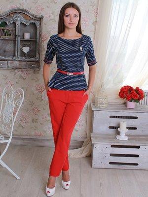 Костюм: блуза и брюки | 2598435