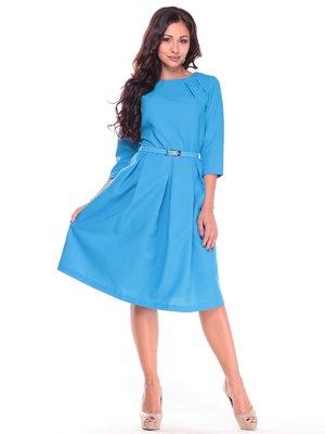 Платье бирюзовое | 2601647