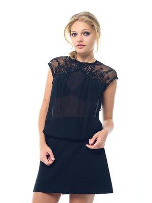 Блуза черная | 1656294