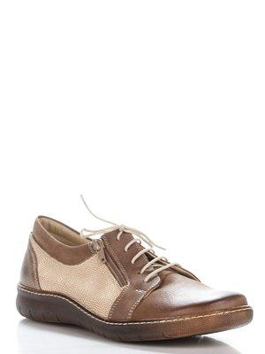 Туфли коричнево-бежевые | 2611721