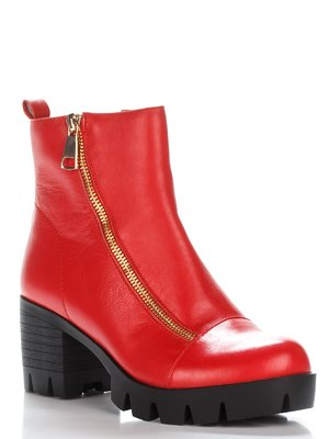 Ботинки ярко-коралловые | 2611730