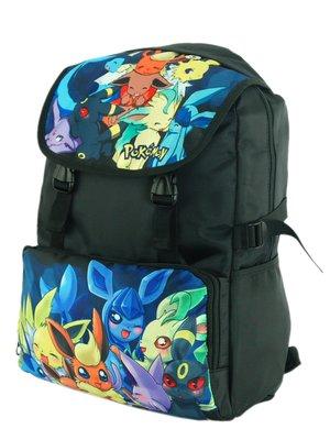 Рюкзак чорний з принтом | 2623053