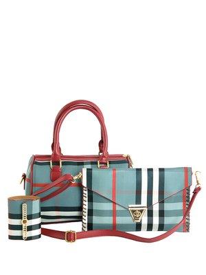 Набор: клатч, сумка и визитница | 2623119
