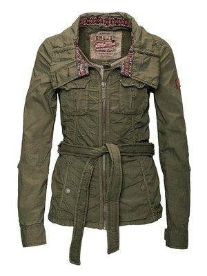 Куртка оливкового кольору | 2269565