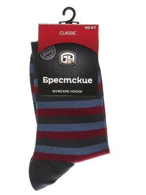 Шкарпетки триколірні в смужку | 2621706