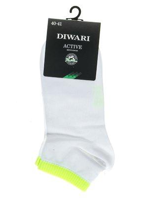 Шкарпетки салатово-білі | 2621668