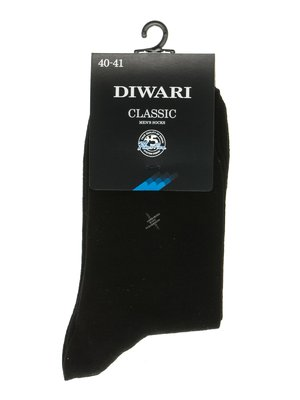 Носки черные с принтом | 2621648