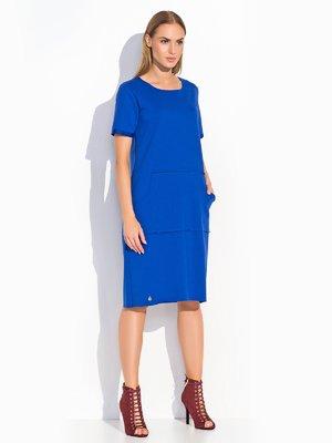 Платье цвета электрик | 2635957