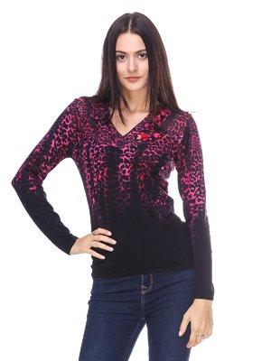 Пуловер анімалістичного забарвлення | 2619143