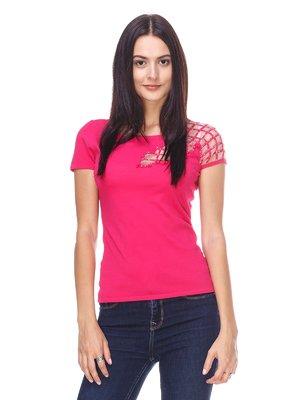 Футболка розовая | 2302530