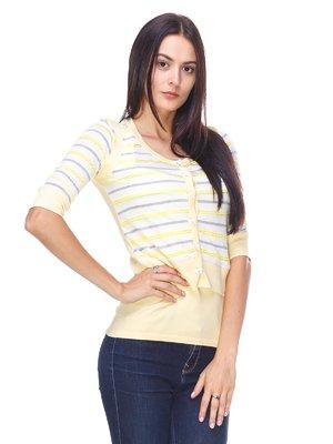Комплект: кофта и блуза | 2316634
