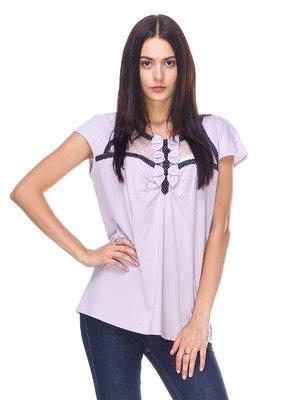 Блуза фіолетова | 2619336
