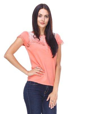 Блуза персикового цвета | 2316643