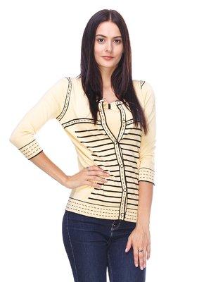 Комплект: кофта и блуза | 2316596